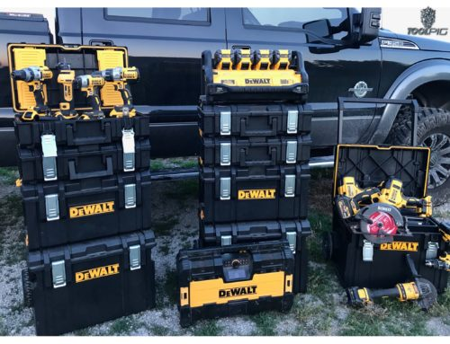Dewalt Tough System stacking toolboxes THDProspective.