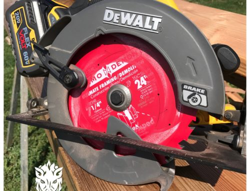 Diablo 7- ¼ in/ 24- Tooth Demo Demon Tracking Point Amped Saw Blade
