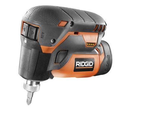 RIDGID 12-Volt Lithium-Ion 1/4 in. Cordless Palm Impact Screwdriver Kit