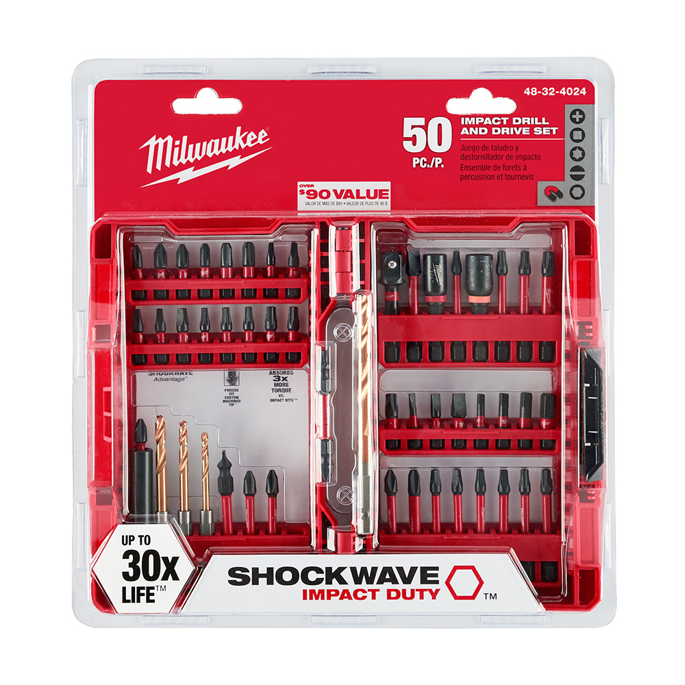milwaukee shockwave impact duty driver bit set thd. Black Bedroom Furniture Sets. Home Design Ideas