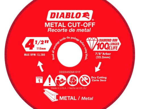Diablo 4.5 in. Diamond Wheel for Metal Cutting – #THDProSpective