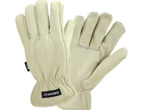 Husky Water Resistant Leather Gloves – #THDProSpective