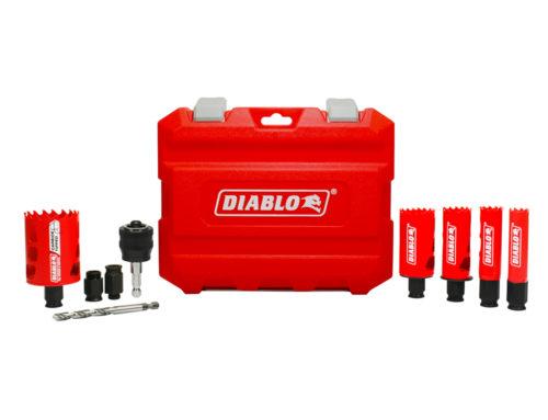 Diablo-9pc Bi-Metal and Carbide Hole Saw Set – #THD-ProSpective