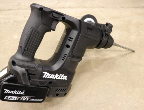 Makita 18V SubCompact Rotary Hammer used with Bosch 1/2 In. x 13 In. SDS-plus® Speed Clean™ Dust Extraction Bit- #THDProSpective #HomeDepot