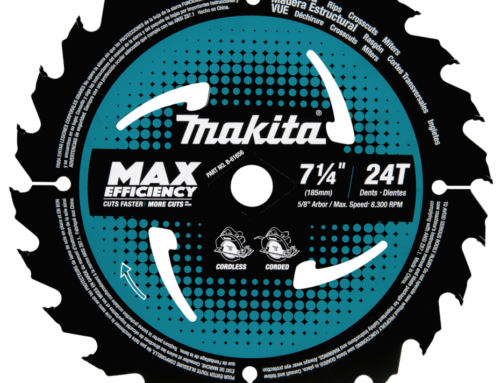 7‑1/4″ 24T Carbide‑Tipped Max Efficiency Circular Saw Blade