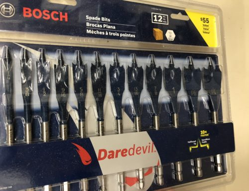 Bosch Daredevil Bits Review- #THDProSpective