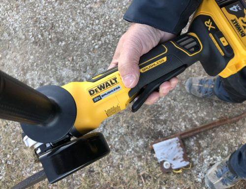 Dewalt Cordless Brushless Paddle Switch Angle Grinder -#THDProspective