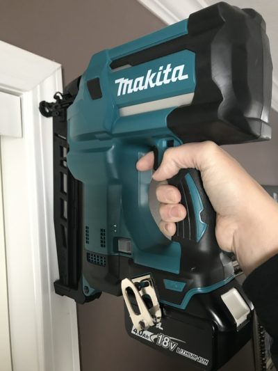 Makita Straight Finish Nailer