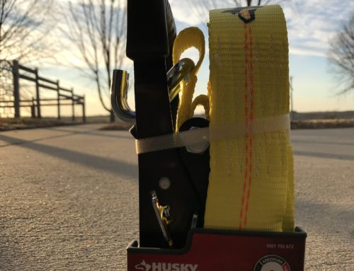 Review: Husky Heavy Duty Ratchet Strap  – #THDProSpective
