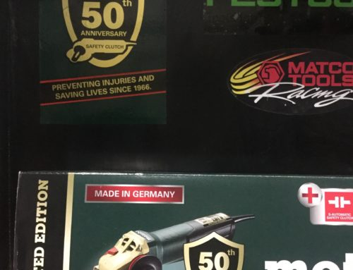 Metabo celebrates 50 years of preventing injuries and saving lives.
