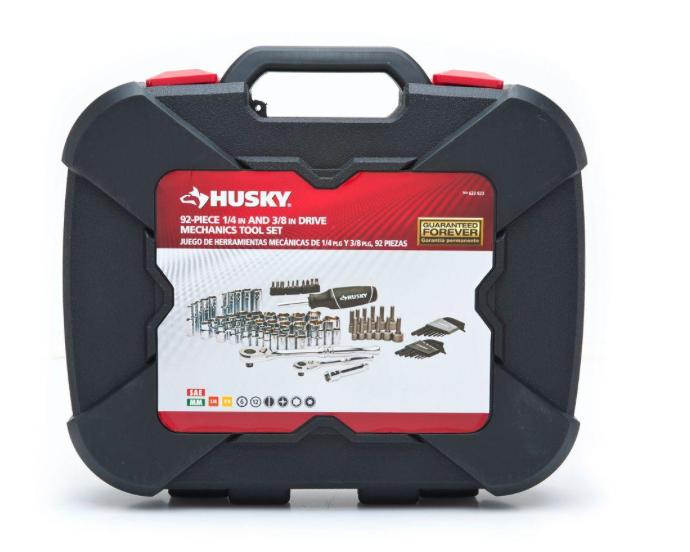 Husky 92 Piece 1/4″ & 3/8″ Drive Mechanics Set – THDProspective