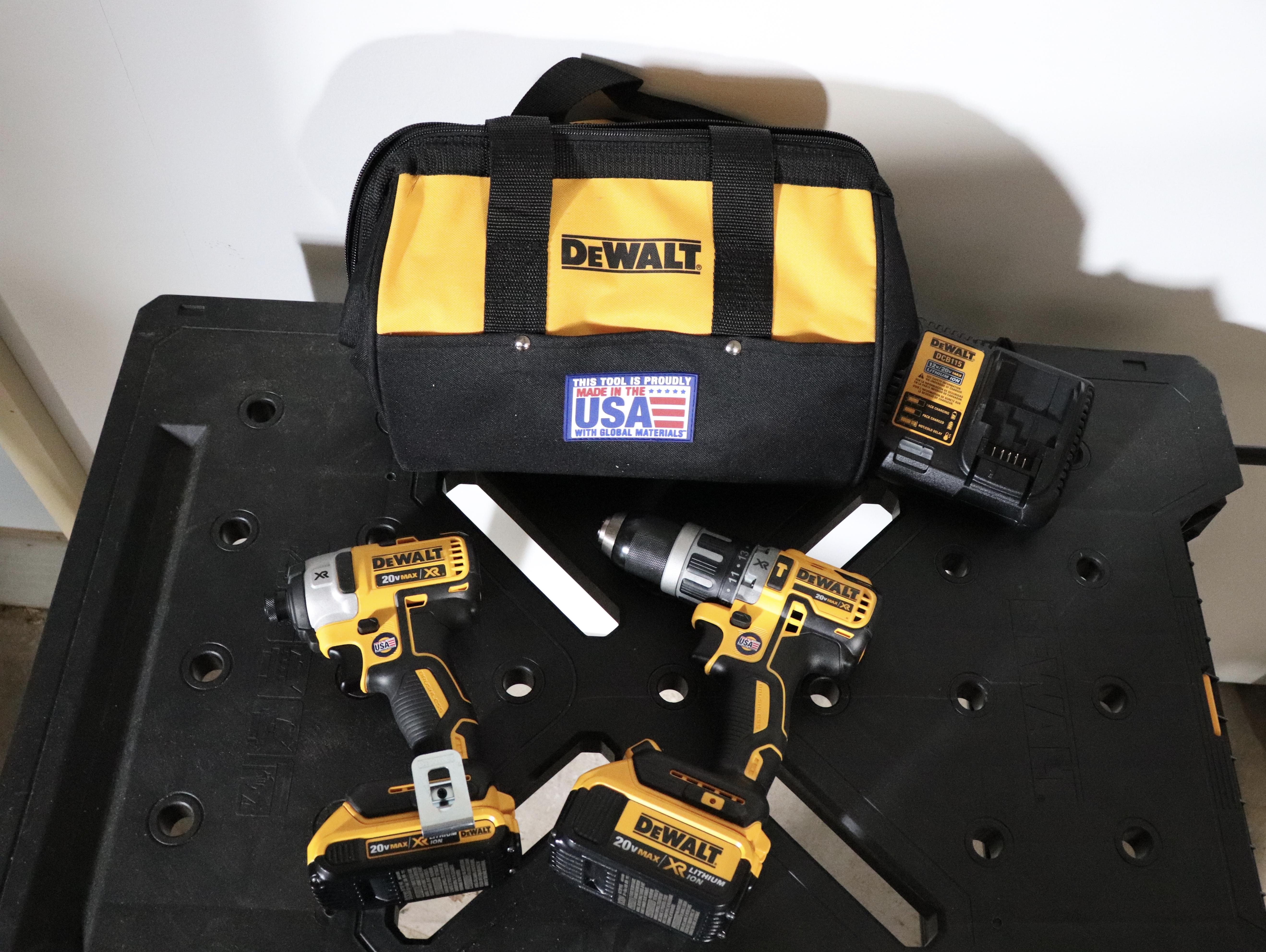 Dewalt 20-Volt MAX XR Lithium-Ion Cordless Brushless Drill/Impact Combo Kit – #THDProspective #HomeDepot