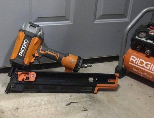 Ridgid 3-1/2 in. Round-Head Framing Nailer – #THDProspective #HomeDepot