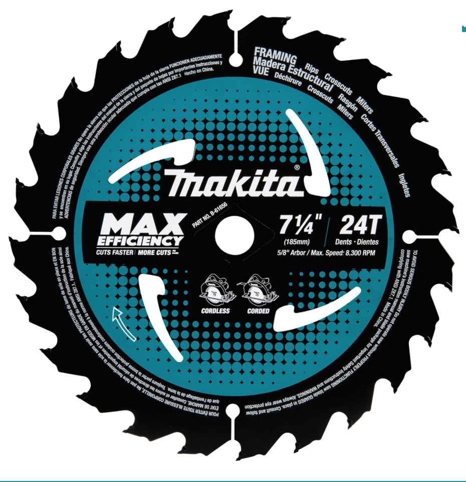 Makita Max Efficiency Saw Blade Review