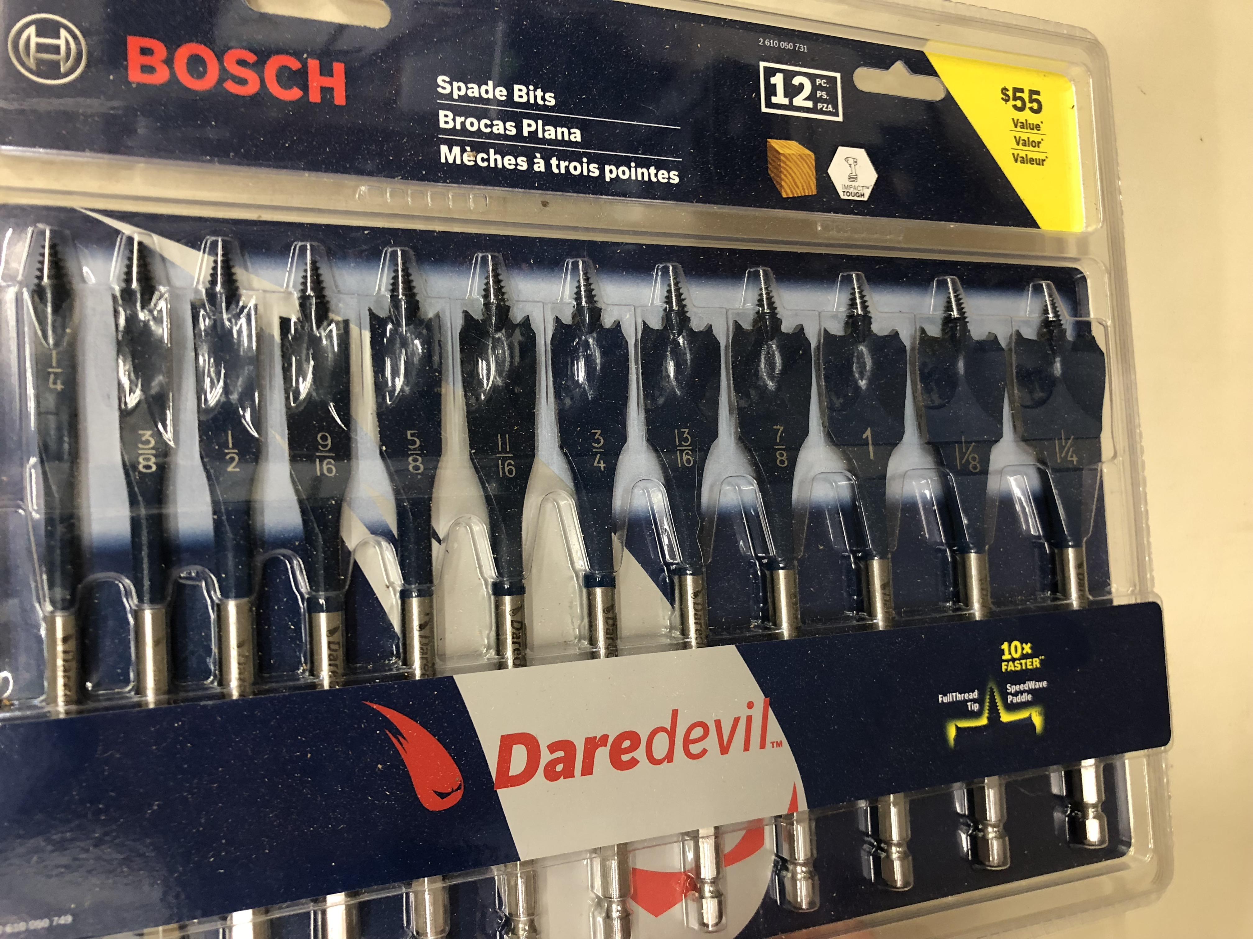 Bosch Daredevil Bits Review- #THDProSpective