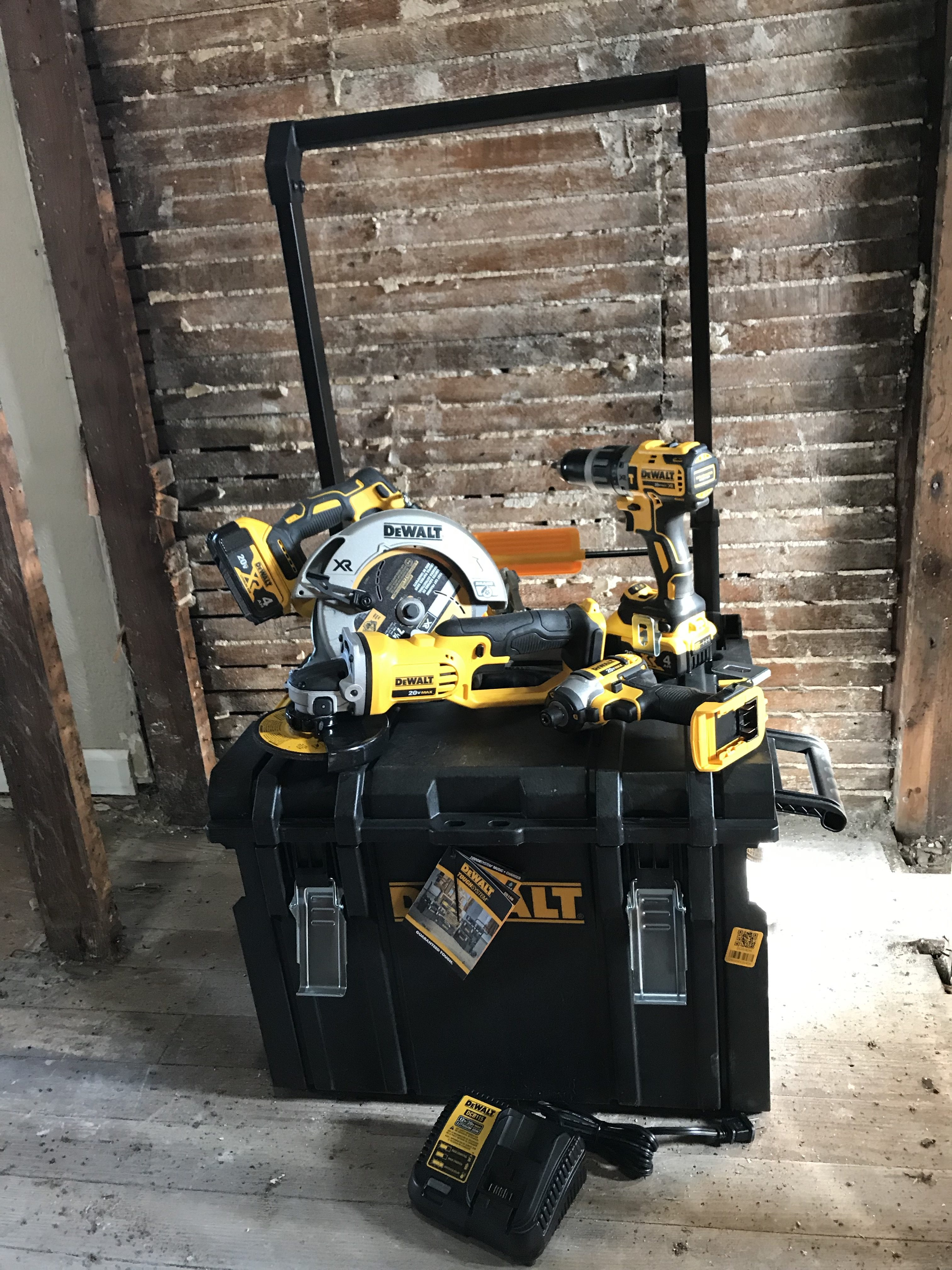 Dewalt Max Cordless Combo Kit in Tough System – #THDProSpective