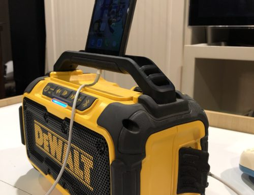 DEWALT 20-VOLT MAX BLUETOOTH SPEAKER REVIEW