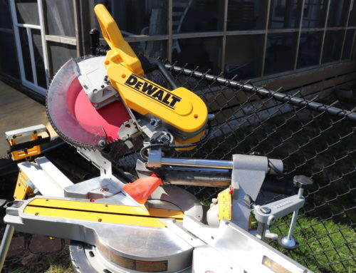 DEWALT MITER SAW- DWS779 REVIEW