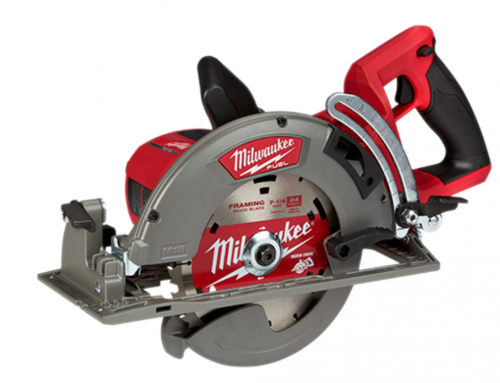 Milwaukee rear handle saw