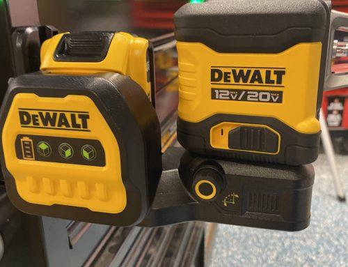 DEWALT 20V MAX* 3×360° Green Line Laser